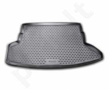 Guminis bagažinės kilimėlis NISSAN Juke 2WD 2010-2014, 4WD 2010->  black /N28003