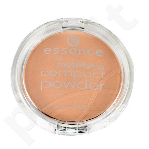 Essence Mattifying kompaktinė pudra, kosmetika moterims, 12g, (01 Natural Beige)