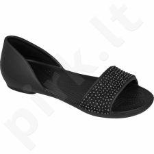 Basutės Crocs Lina Embellished D'orsay Flat W 204361 juodas