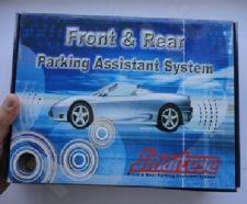 8-ių jutiklių parkavimo sistema su LCD vaizduokliu