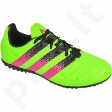 Futbolo bateliai Adidas  ACE 16.3 TF Jr Leather AQ2066