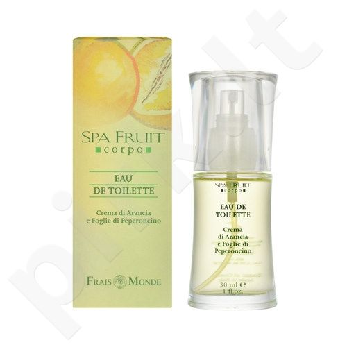 Frais Monde Spa Fruit Orange And Chilli Leaves, tualetinis vanduo moterims, 30ml