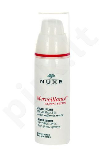 Nuxe Merveillance Lifting serumas For Visible Lines, kosmetika moterims, 30ml