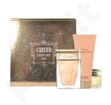 Cartier La Panthere rinkinys moterims, (EDP 75ml + 100ml kūno kremas + 6ml EDP)