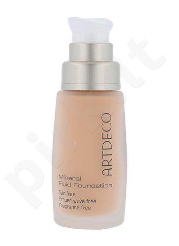 Artdeco Pure Minerals Mineralinė skysta pudra, kosmetika moterims, 30ml, (15 Soft Caramel)