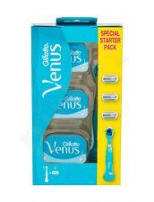 Gillette Venus, rinkinys skutimosi peiliukai moterims, (Shaver 1 pc + skutimosi peiliukais 3 pcs)