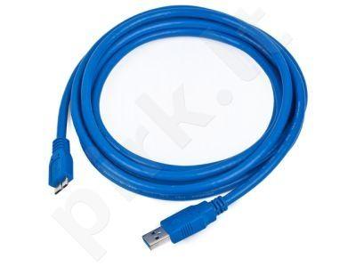 Gembird AM-Micro kabelis USB 3.0 1.8M