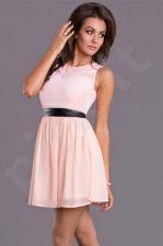Emamoda suknelė - persikinė 7004-3