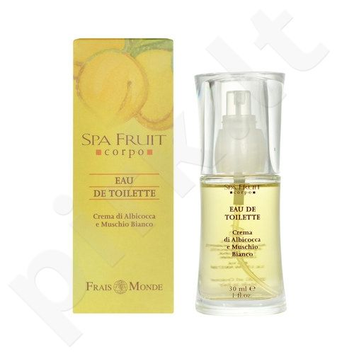 Frais Monde Spa Fruit Apricot And White Musk, tualetinis vanduo moterims, 30ml