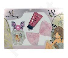 Winx Fairy Couture Flora rinkinys moterims, (EDT 100ml + 75ml kūno losjonas + hair clip)