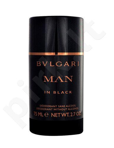 Bvlgari Man In Black, pieštukinis dezodorantas vyrams, 75ml