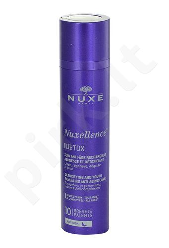 Nuxe Nuxellence Detox Anti-Aging Night Care, kosmetika moterims, 50ml