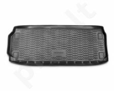 Guminis bagažinės kilimėlis NISSAN Pathfinder 2014-> (used 3 rows) black /N28013