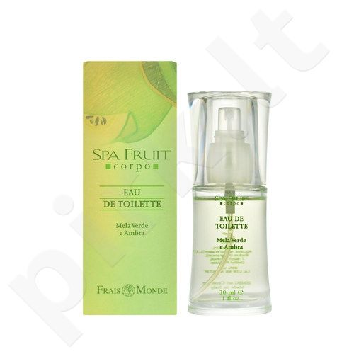 Frais Monde Spa Fruit Green Apple And Amber, tualetinis vanduo moterims, 30ml