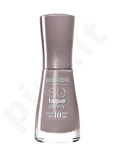 BOURJOIS Paris So Laque Glossy, kosmetika moterims, 10ml, (08 Peach And Love)