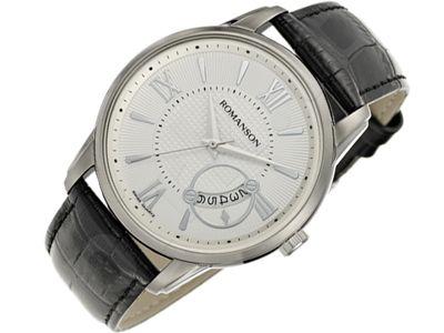 Romanson Classic TL3205MM1WAS2W vyriškas laikrodis