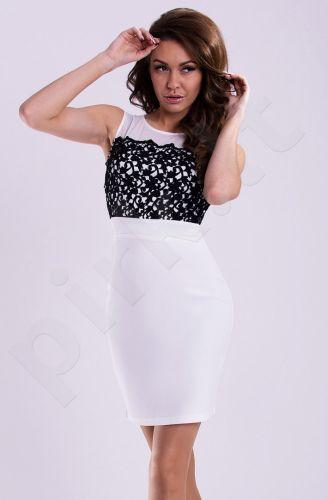 Emamoda suknelė - balta 12009-2