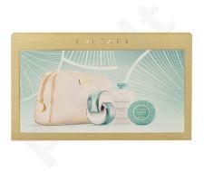 Bvlgari Omnia Paraiba rinkinys moterims, (EDT 65ml + 75ml kūno losjonas + 75g muilas + kosmetikos krepšys)
