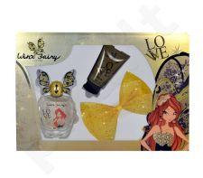 Winx Fairy Couture Bloom rinkinys moterims, (EDT 100ml + 75ml kūno losjonas + hair clip)
