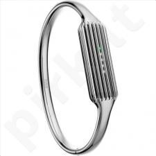 Fitbit - Flex 2 Accessory Bangle, Silver - Small
