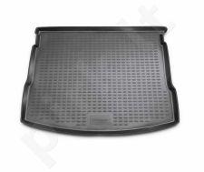 Guminis bagažinės kilimėlis NISSAN Qashqai 2007-2014  black /N28018