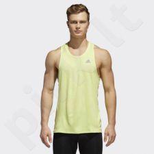 Marškinėliai bėgimui  adidas Response Singlet M CE7276