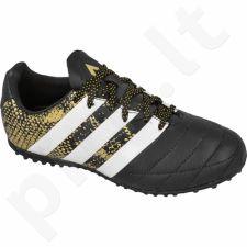 Futbolo bateliai Adidas  ACE 16.3 Leather TF Jr AQ2068