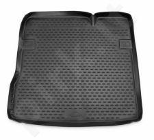Guminis bagažinės kilimėlis NISSAN Terrano 2014-2016 2016-> 2WD black /N28028
