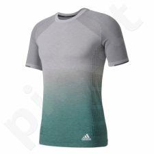 Marškinėliai bėgimui  adidas Primeknit Wool Dip-Dye M AZ2899