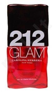 Carolina Herrera 212 GLAM, tualetinis vanduo (EDT) moterims, 60 ml