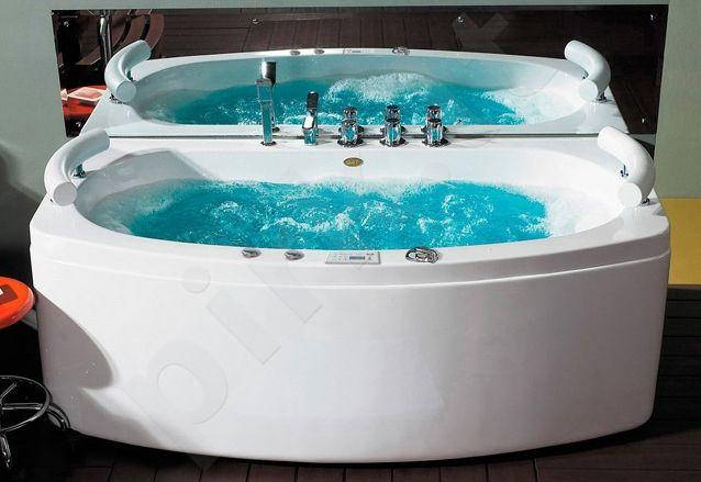 Masažinė vonia B1790-1 su oro ir hidromasažu 150cm