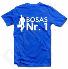 """Marškinėliai """"Bosas NR 1"""""""
