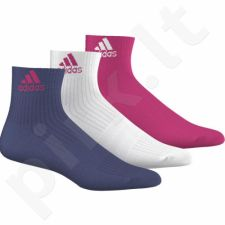 Kojinės Adidas 3S Performance Ankle Half cushioned 3 pary AJ9632
