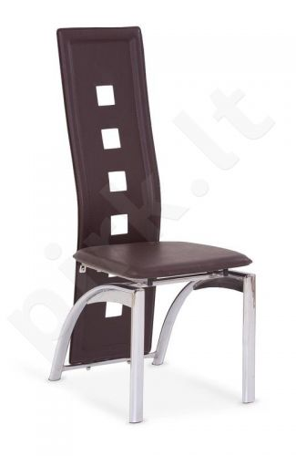 Kėdė K4, tamsiai rudos sp.