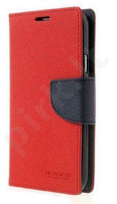 Samsung Galaxy Ace 4 dėklas FANCY Mercury raudonas/mėlynas