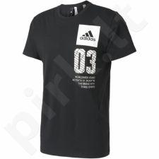 Marškinėliai Adidas New York City M B45744