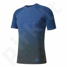 Marškinėliai bėgimui  adidas Primeknit Wool Dip-Dye M AZ2900