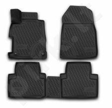 Kilimėliai 3D HONDA Civic 4D, 2012-2016, sedan, 4 pcs. black /L28034