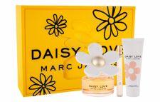 Marc Jacobs Daisy Love, rinkinys tualetinis vanduo moterims, (EDT 100 ml + kūno losjonas 75 ml + EDT 10 ml)