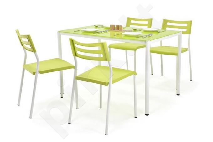 FIGARO komplektas: stalas + 4 kėdės