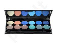 Sleek MakeUP I-Divine akių šešėliai Palette, kosmetika moterims, 13,2g, (085 Calm Before The Storm)