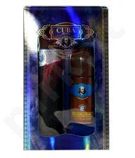 Cuba Blue rinkinys vyrams, (EDT 100ml + 50ml deo rollon)