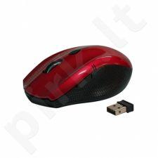 ART Pelė AM-87C optinė-belaidė USB raudona