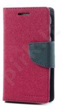 Samsung Galaxy Ace 4 dėklas FANCY Mercury h.rožinis/mėlynas