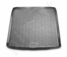 Guminis bagažinės kilimėlis NISSAN Terrano 2014-2016 2016-> 4WD black /N28029