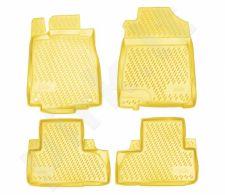 Kilimėliai 3D HONDA CR-V, 2012-2015, 2015->, 4pcs. beige /L28036B