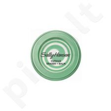Nagų odelių šalintojas + maitinamasis balzamas Sally Hansen Salon Manicure Cuticle Eraser + Balm, 8g
