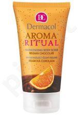 Dermacol Aroma Ritual Harmonizing kūno šveitiklis Belgian Choco, 150ml, kosmetika moterims