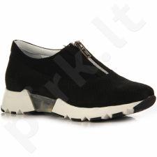 Simen 8689 odiniai juodi sportiniai batai