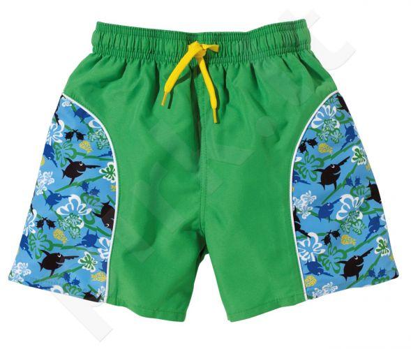 Maudimosi šortai berniukams UV SEALIFE 4192 80/86 blue/gree